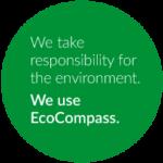 We use EcoCompass logo