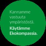 Me käytämme Ekokompassia logo