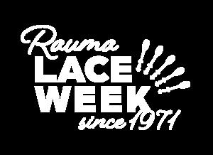 Rauma Lace Week since 1971 logo.