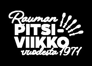 Rauman Pitsiviikko vuodesta 1971 logo.